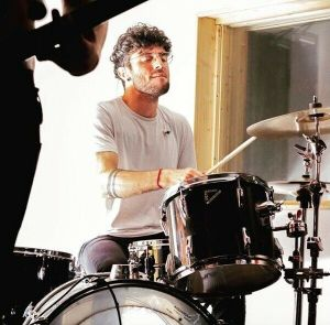drummer luca romano recording