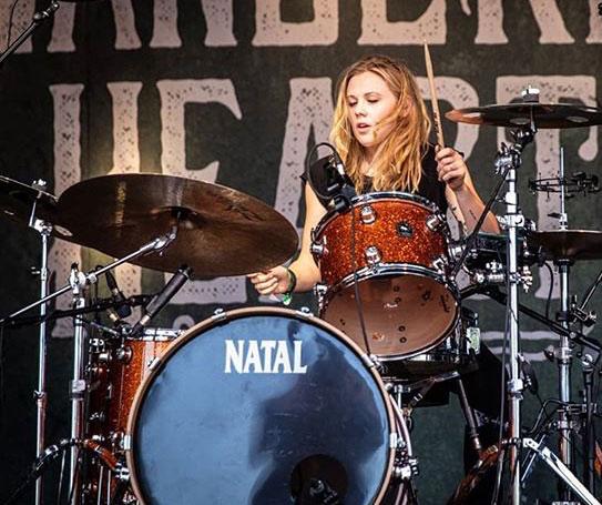 Sian Monaghan female drum teacher London