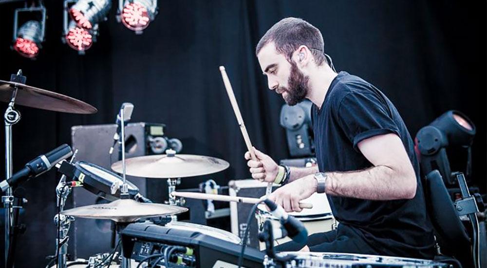 Joe Nicklin drum teacher Muswell Hill