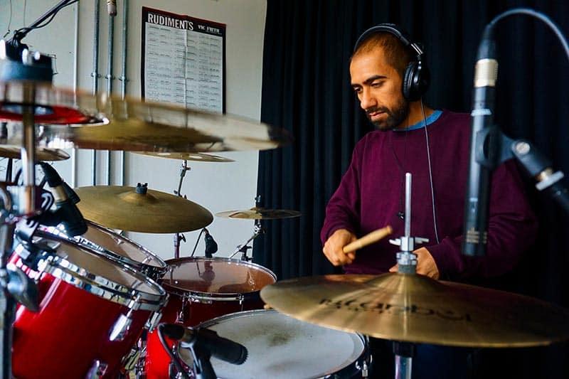 drummer Az Khan