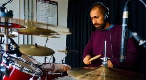 Stoke Newington drum teacher Az Khan